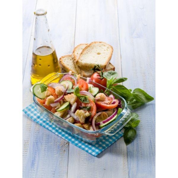 Salade Panzanella met oud brood